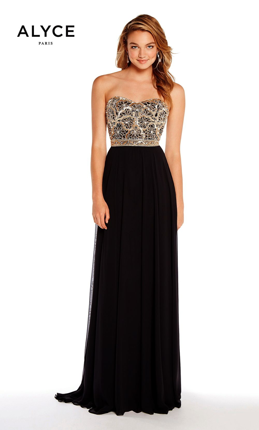 Prom Dresses Evening Dresses by ALYCE PARIS<BR>aay60191<BR>A-line ...