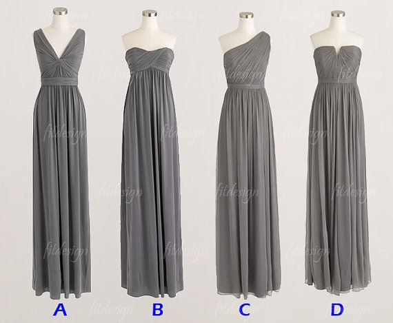 gray bridesmaid dresses long bridesmaid dresses cheap by fitdesign, but not in Gray