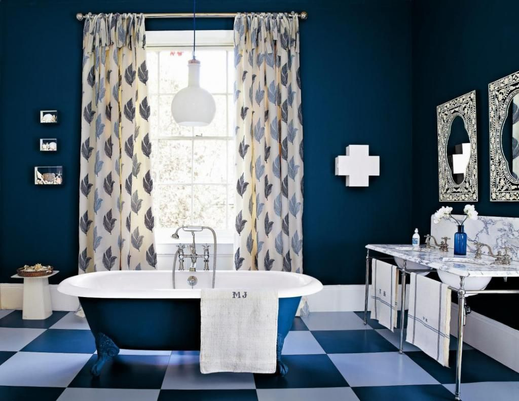 Blue Bathroom Ideas blue bathroom paint colors. zamp.co