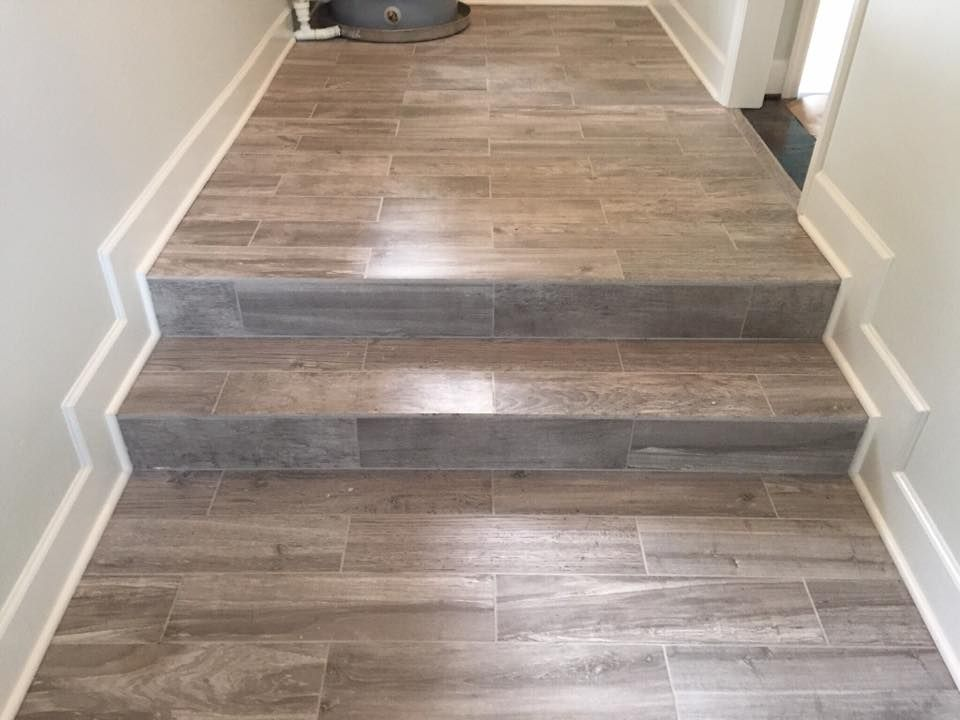 6 x 24 porcelain tile floor