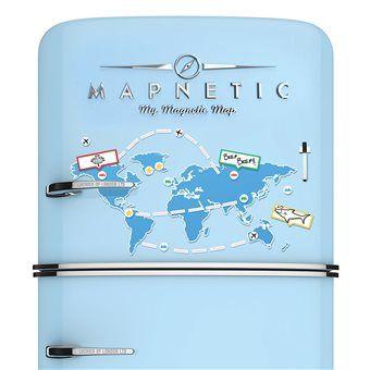 #maudjesstyling# Luckies Magnetische Wereldkaart