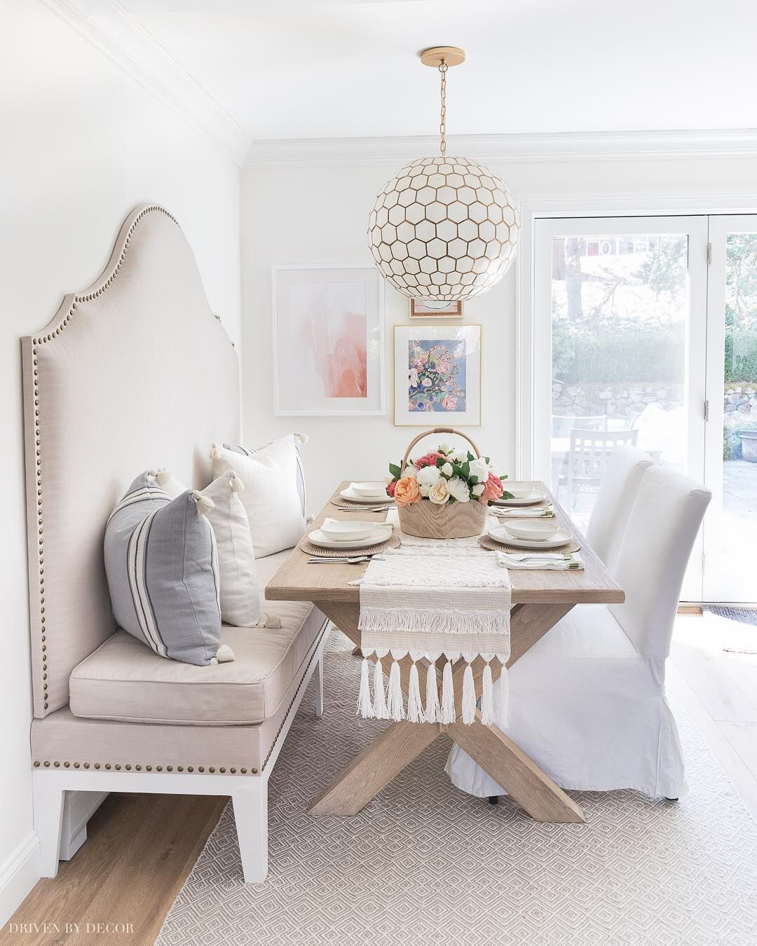 Driven By Decor Kris On Instagram Everyone Always Jokes About The Restoration Hardware Dining Room Pottery Barn Living Room Pottery Barn Dining Room Table