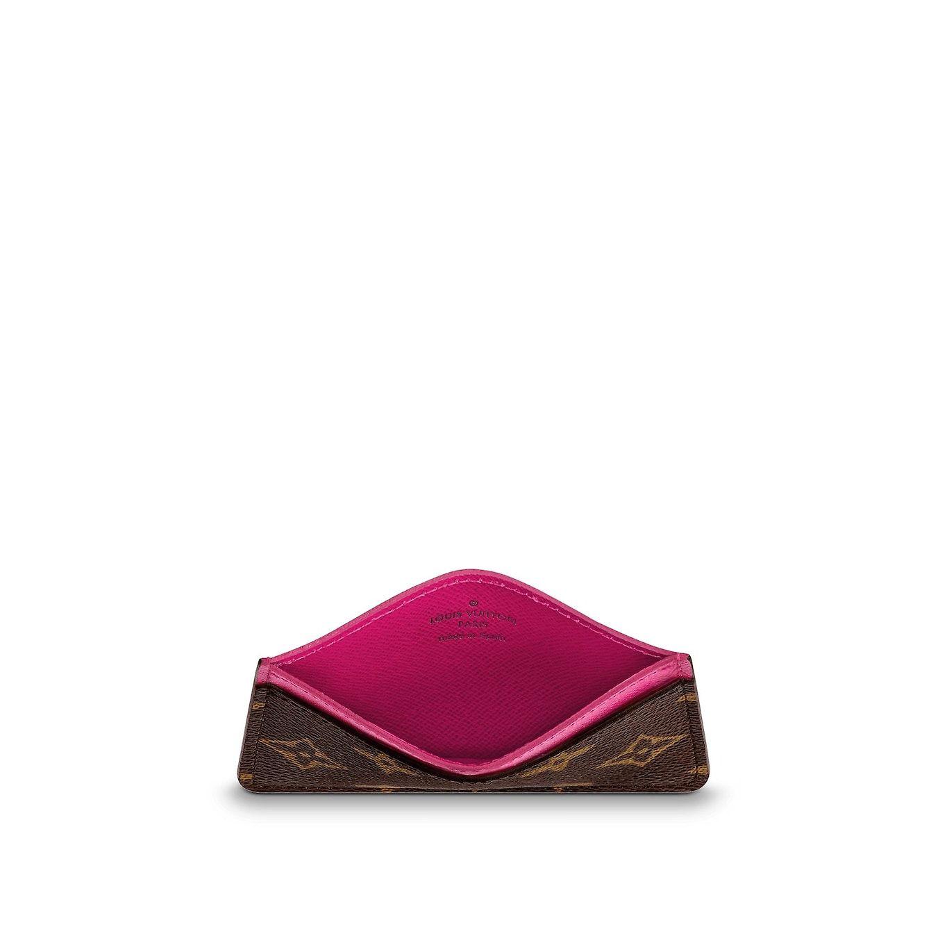 Vue 3 - Porte-cartes simple Toile Monogram Femme Petite Maroquinerie  Porte-clés et d27c4aabe3f