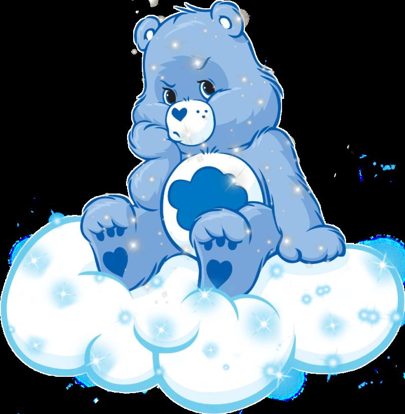 Carebear Freetoedit Cute Blue Girly Carebears Kawaii Stickers Carebear Care Bear Tattoos Bear Art Grumpy Care Bear