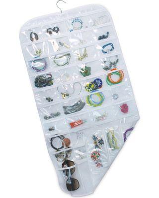 An Innovative Craft Closet Hanging jewelry organizer Hanging