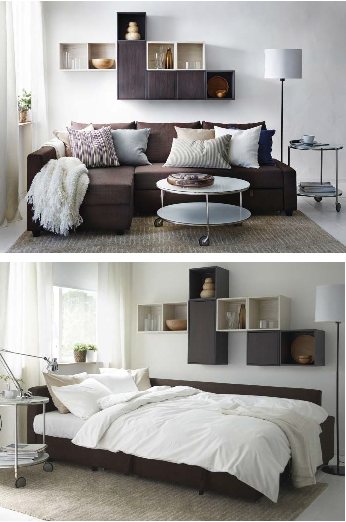 Recliner Sofa Ikea FRIHETEN corner sofa bed has an interchangeable chaise lounge that you can place on the left or right and switch it whenever you like