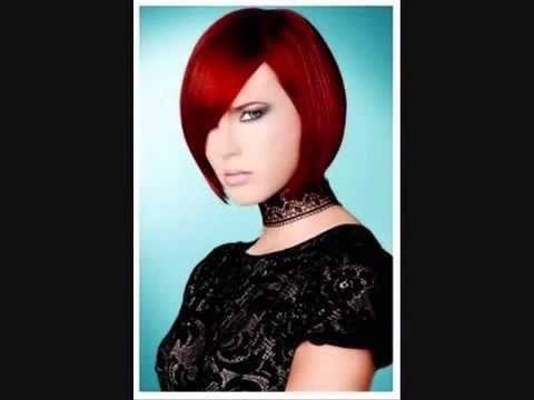 corto masaje cabello rojo