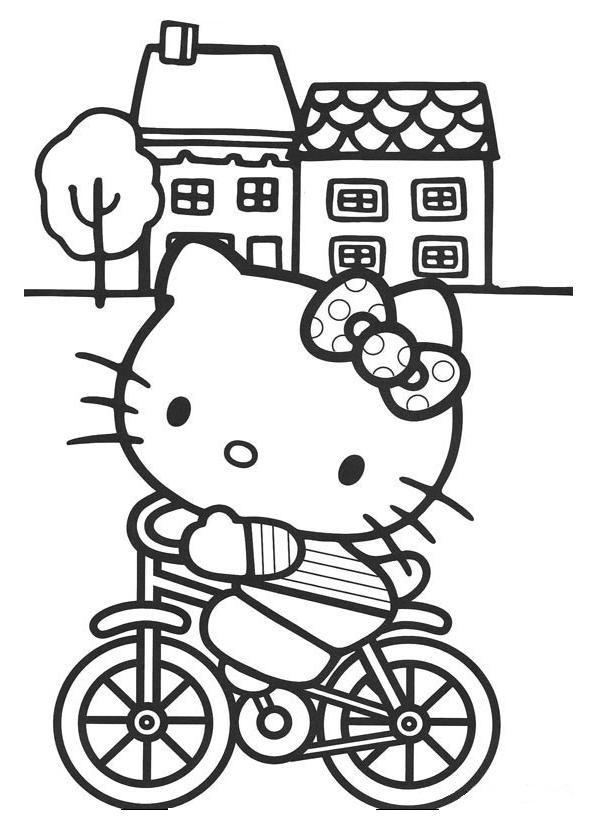 Dibujos para colorear de Hello Kitty Hello Kitty es un personaje