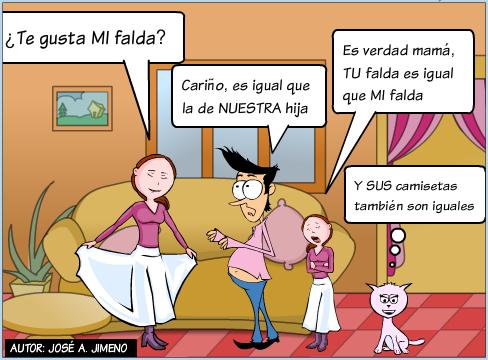 Adjetivos posesivos | Learning spanish, Teaching spanish ...