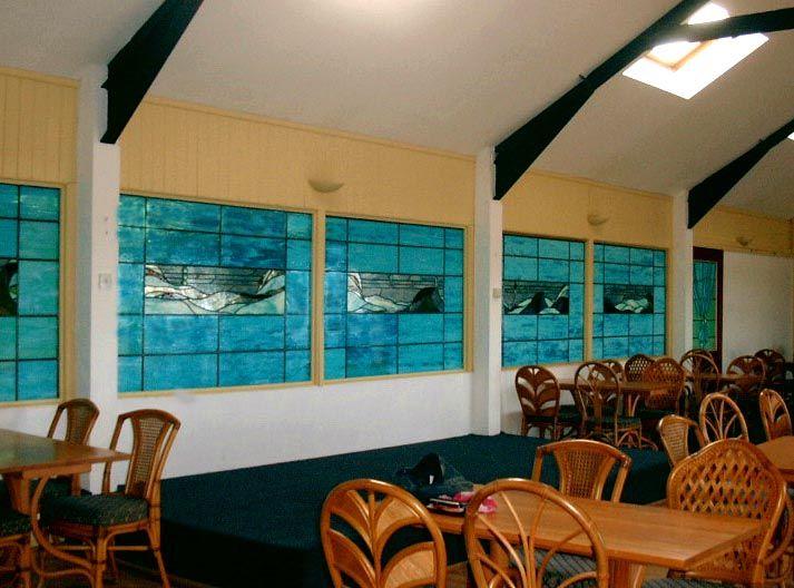Swimming Pool windows Cape Cornwall, UK fikilpatrick.com