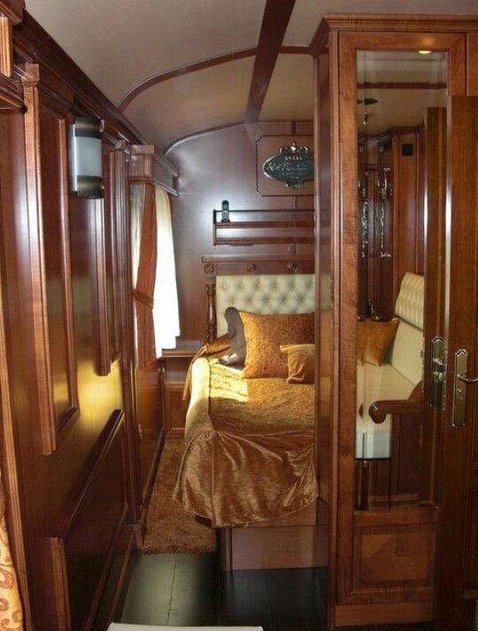 Pullman Sleeping Car On The Orient Express Train Travel Luxury Train Train Journey
