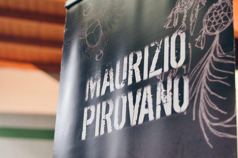 Maurizio Pirovano, La pelle racconta. Concerto in favore delle persone terremotate, Cisano Bergamasco (BG). Fotografie di Chiara Arrigoni. #lecco #rock #music #mauriziopirovano