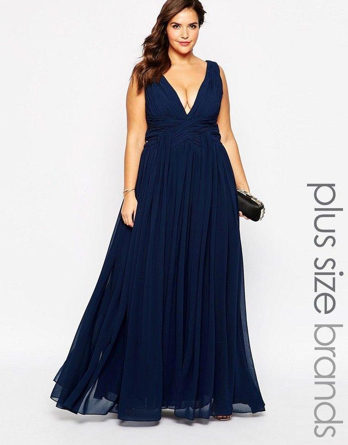 plus size plunge neck maxi dress | fashion | pinterest | forever