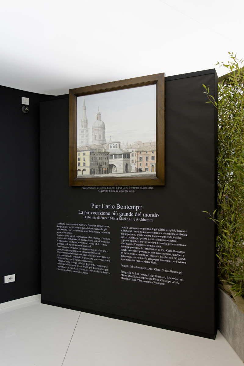 Bontempi architecture exhibition opens at FAB Castellarano