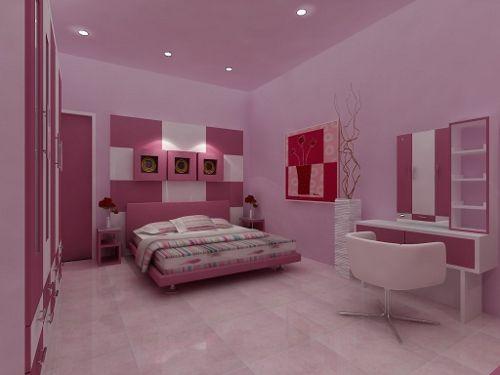 Como Decorar Una Habitacion Juvenil Femenina Dormitorio Decora - Como-decorar-habitacion-juvenil-femenina