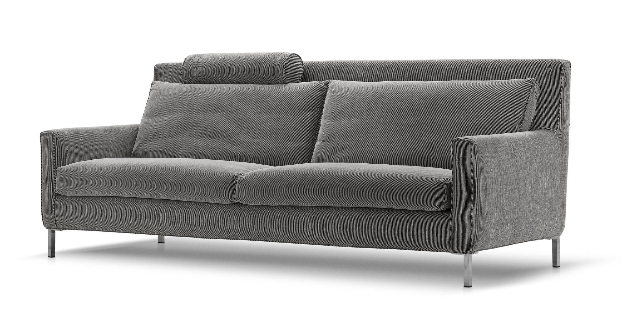 Streamline High Back Sofa, Bedroom sofa, Couch