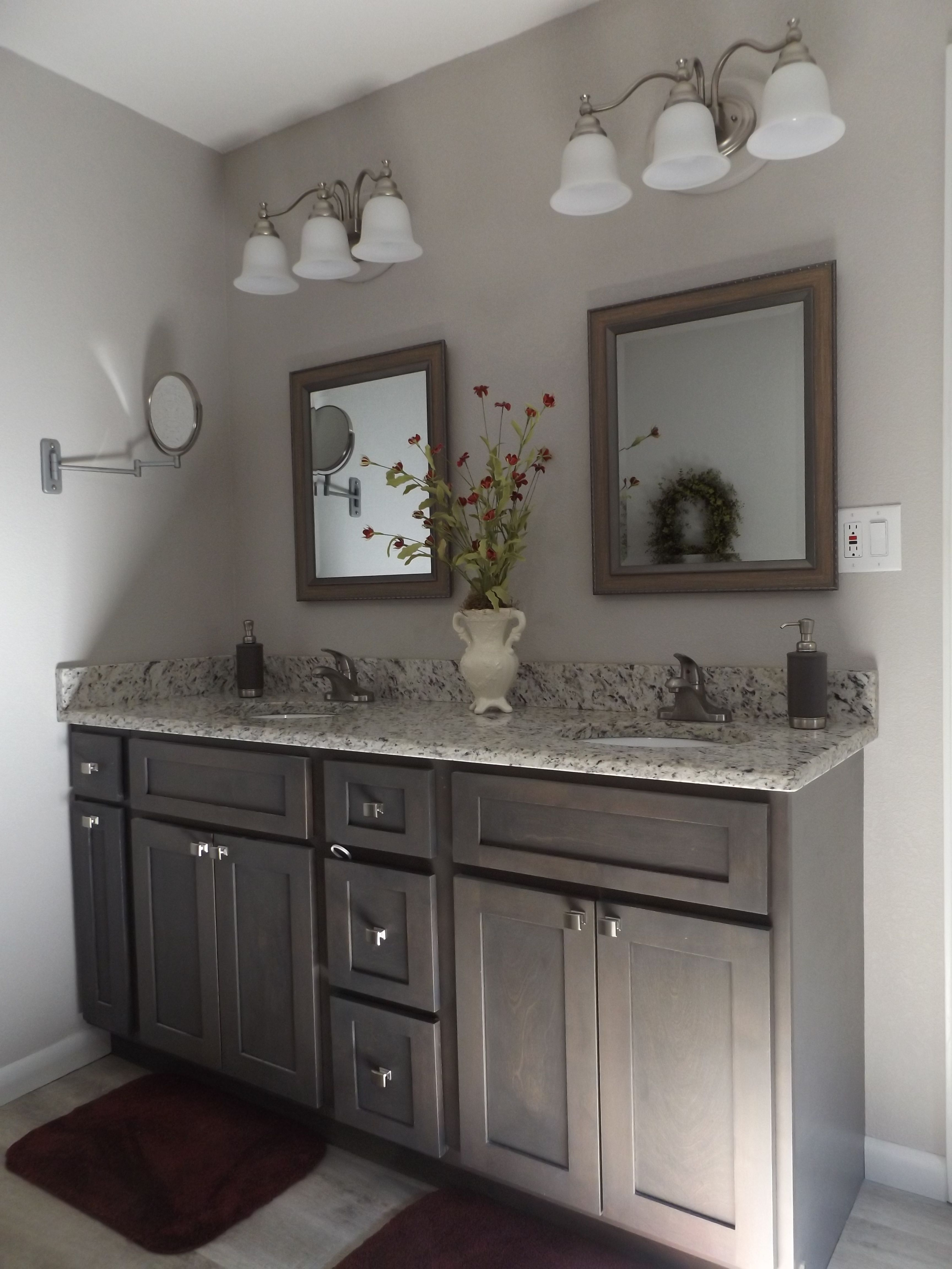 Pickled gray cabinets | Grey cabinets, Kitchen remodel