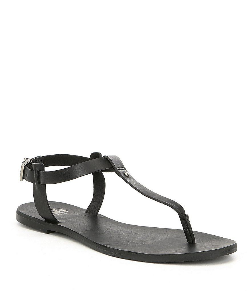 5fefdd403bb13 GB So-Fab T-strap Thong Flat Sandals