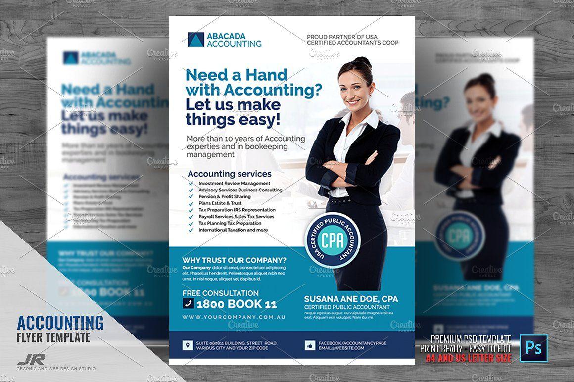 Accounting Firm Flyer Accounting Firms Accounting Flyer