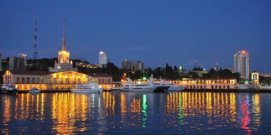 Сочинский морской порт «морпорт» фото, описание и ...