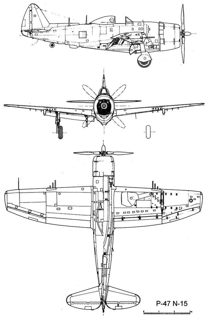 Republic p 47 thunderbolt blueprint planes pinterest planes republic p 47 thunderbolt blueprint planes pinterest planes aircraft and aviation malvernweather Choice Image