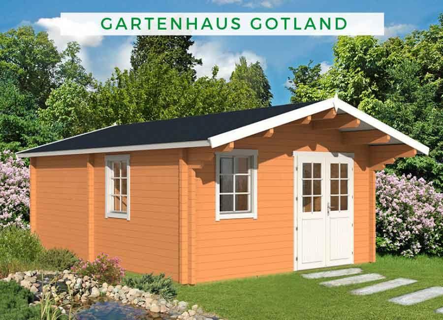 Gartenhaus Modell Gotland E 70 111742 Gartenhaus Haus Gartenhaus Farbe
