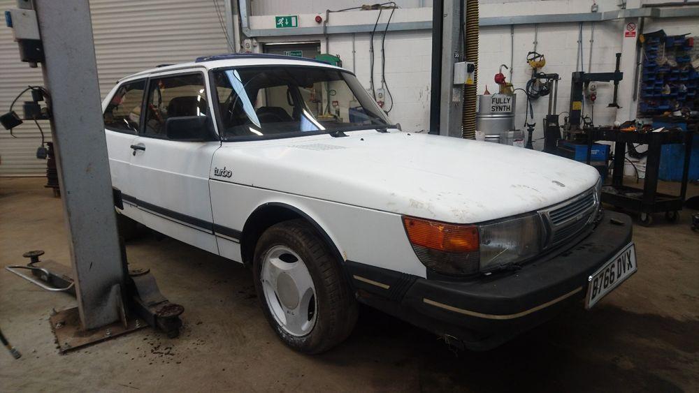 eBay: Saab 900 8v Turbo 3 door Manual 1985 Classic Flat Front ...