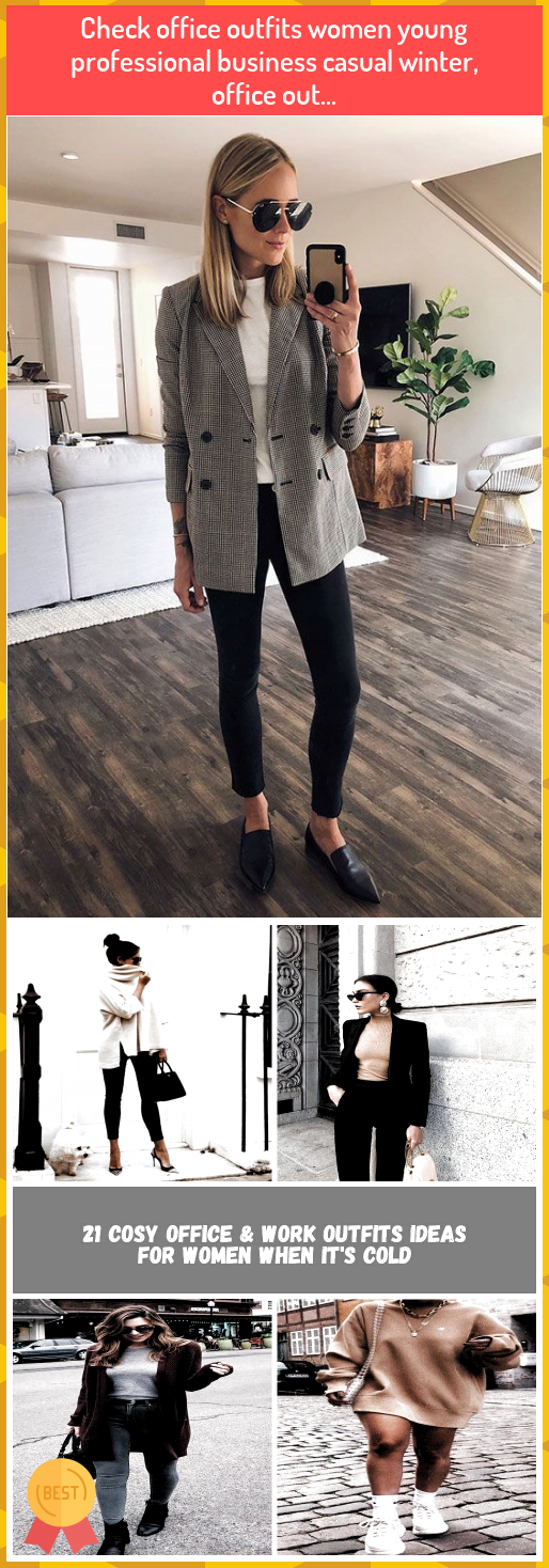 Check office outfits women young professional business casual winter, office out... #Check #office #outfits #women #young #professional #business #casual #winter, #office #out...