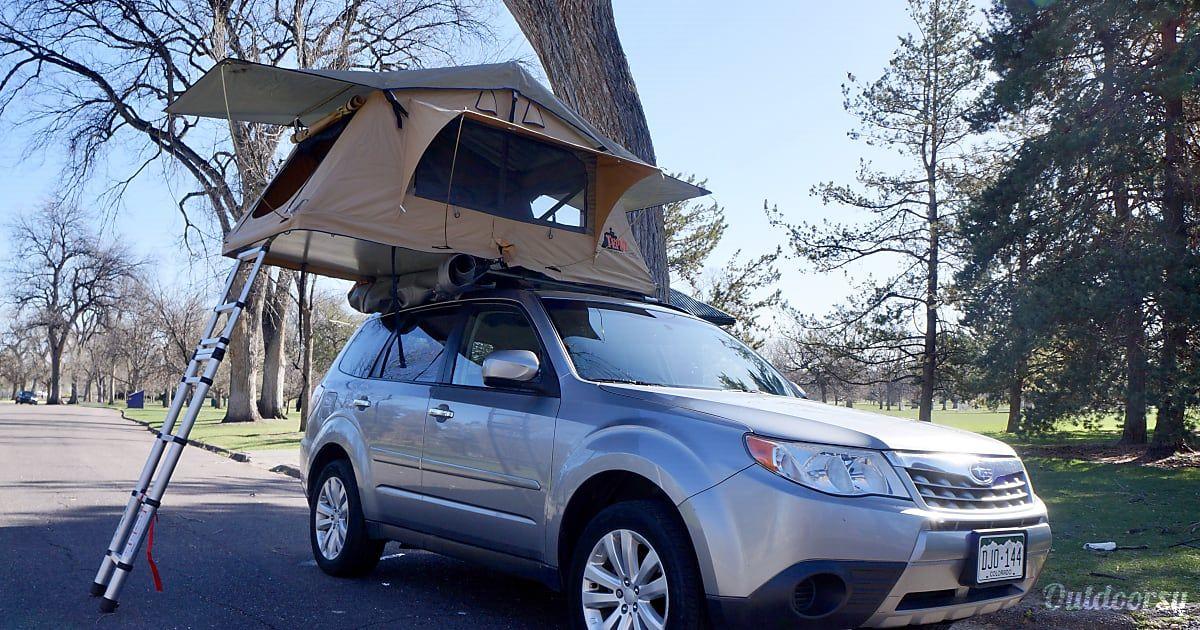 2020 Subaru Forester Truck Camper Rental In Aurora Co Subaru Forester Subaru Roof Tent