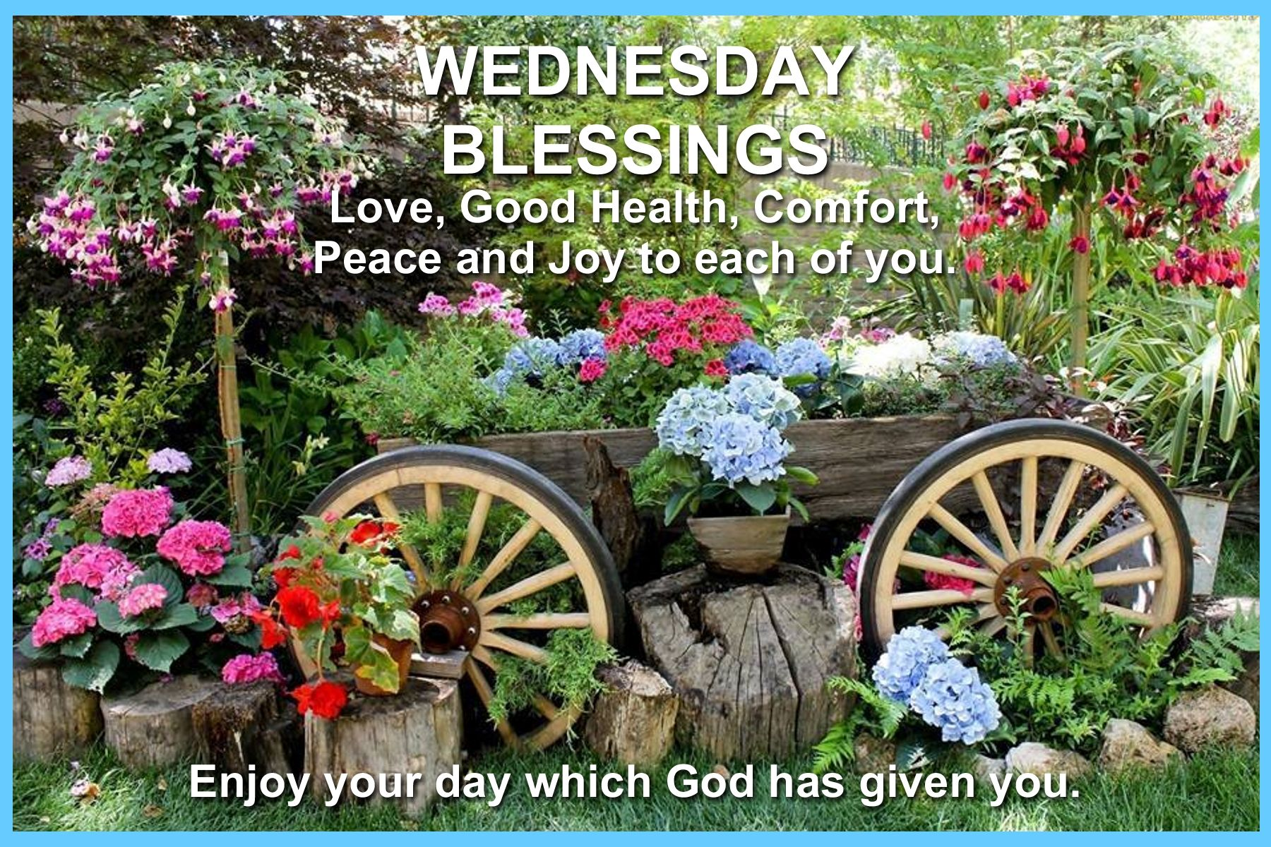 Pin by rosa well on wednesday blessings pinterest wednesday wednesday greetings patio ideas landscaping ideas blessings backyards alter patios landscapes horse drawn wagon kristyandbryce Images