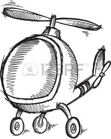 Cute Doodle Sketch Helicopter Cute Doodles Doodle Sketch Cute Sketches