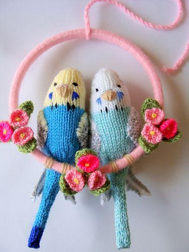 Budgies Pattern By Debi Birkin Yarn Crafts Fabric