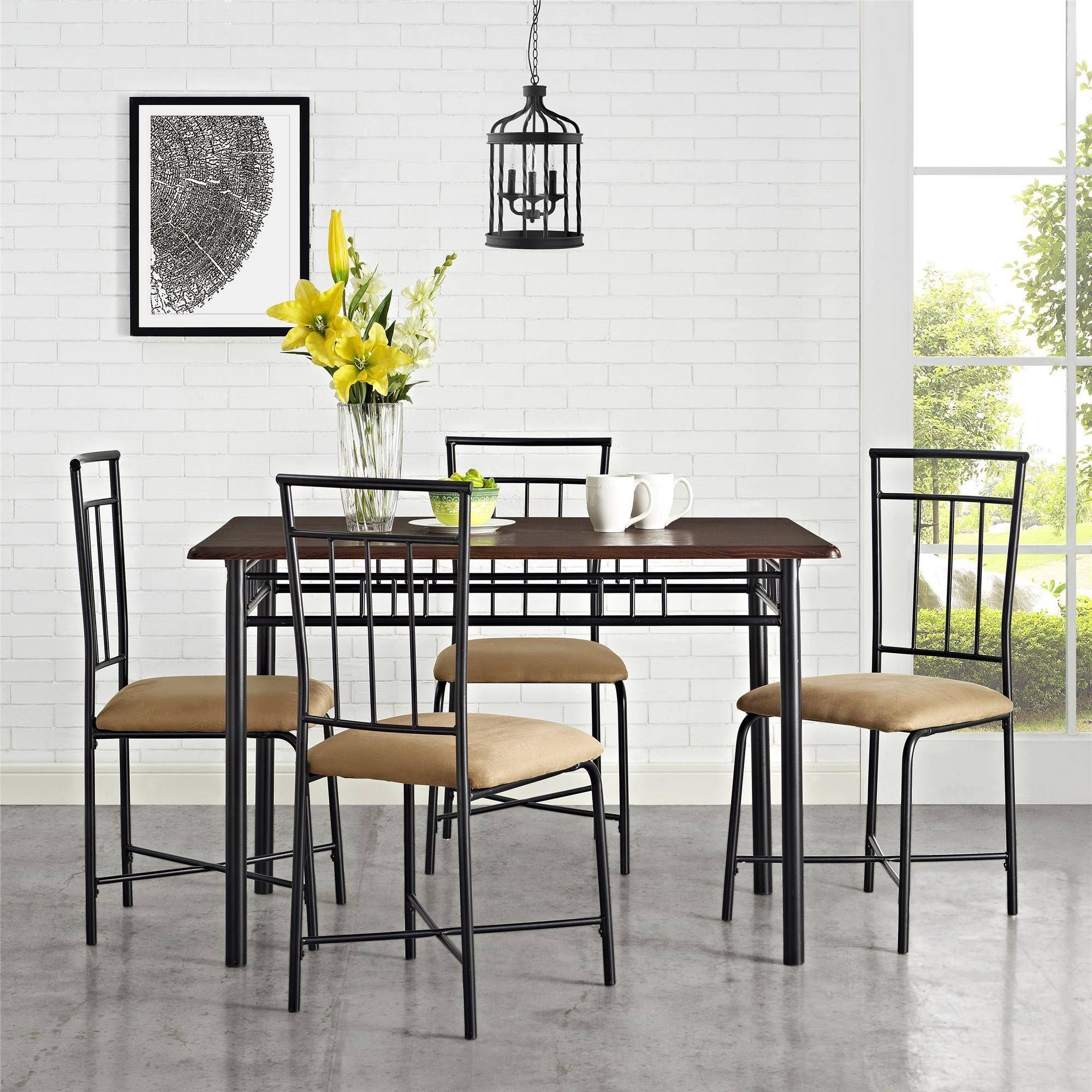 Mainstays 9 Piece Dining Set, Multiple Colors   Walmart.com in ...