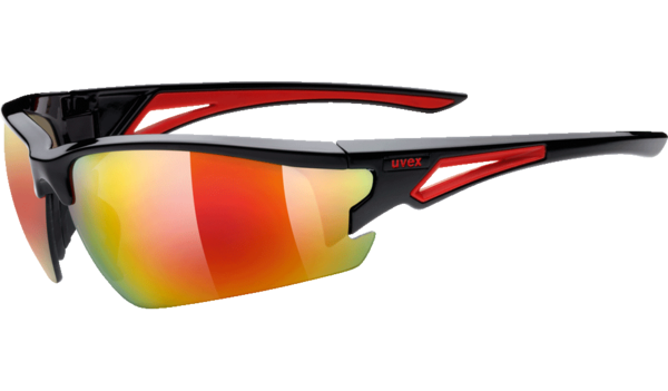 7097b05ea8e Sports Eyewear - uvex sportstyle 108 - black red