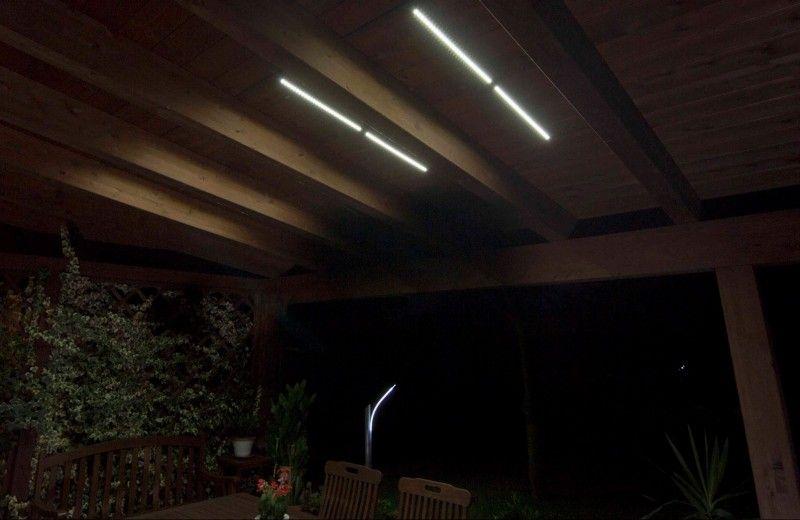 illuminazione gazebo lampade e strisce led  illuminazione gazebo lampade e strisce led ...