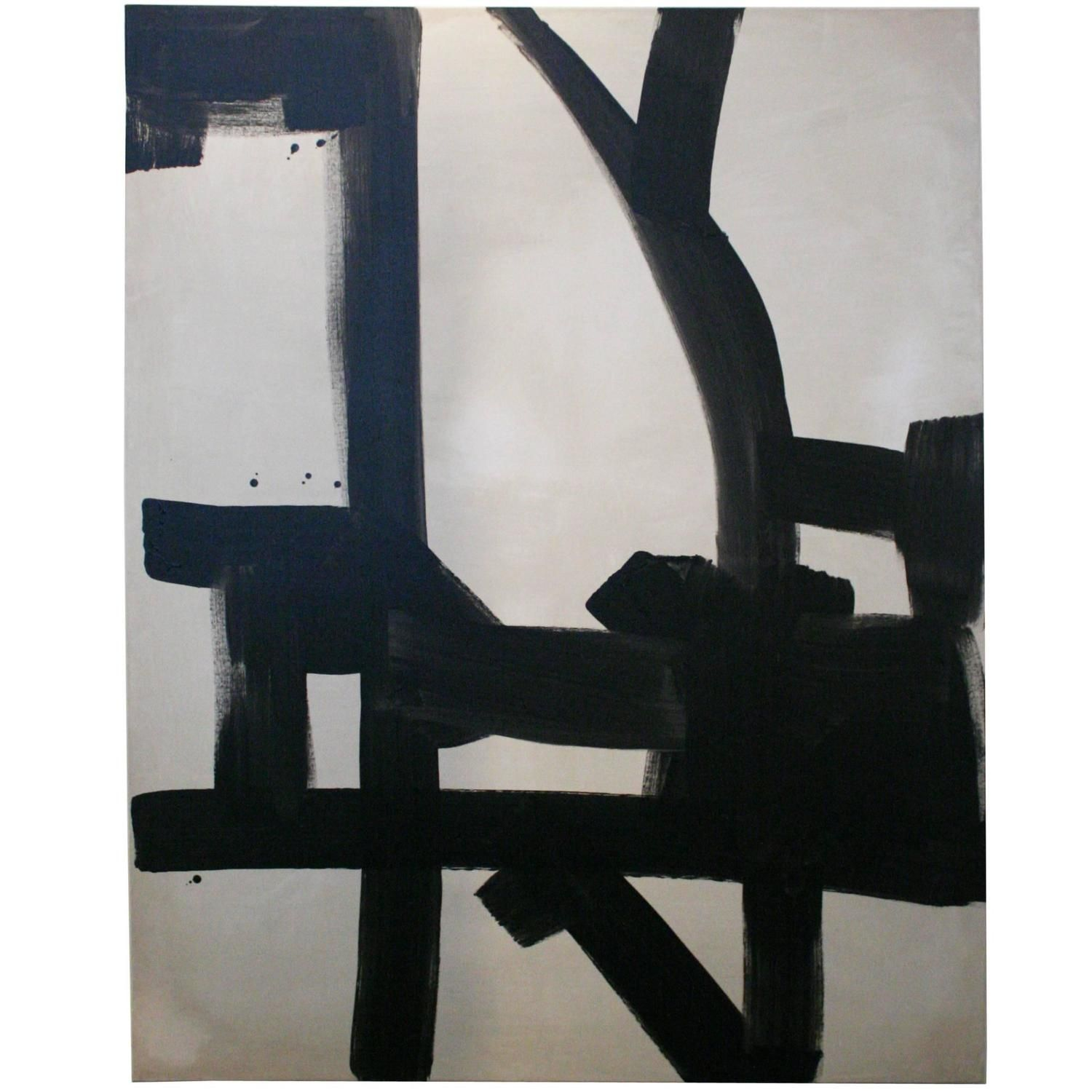 William McClure Abstract | From a unique collection of antique and modern paintings at https://www.1stdibs.com/furniture/wall-decorations/paintings/