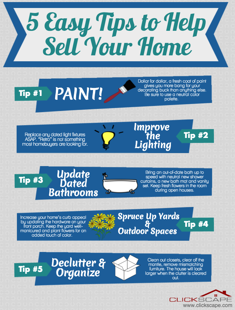 Easy Tips To Sell Your Home [from Real Estate Professional] œ� Getting Ready  To
