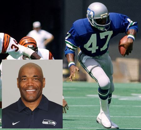 Before Warner, it was Sherman Smith. Before Smith? Well, there was no one. That's because before Smith, there were no Seahawks. I met him at a Rotary Club meeting that my Dad took me to in Lacey, WA when I was just a kid. I remember shaking his hand, and love his work with our Running Backs coach today.