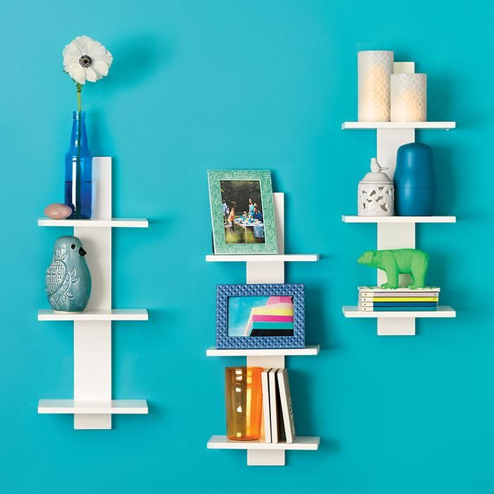 Vertical Wall Shelf | Avon--I WANT THESE RIGHT NOW. WE NEED TO