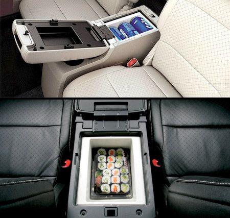 Car Refrigerator Modern Fridge Designed To Fit Underneath
