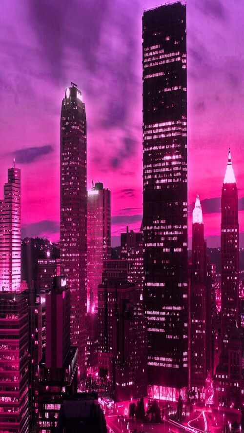 Image about pink in CITY by иσяℓєиα. on We Heart I