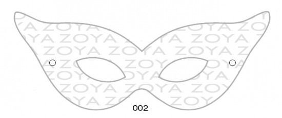 Zoya Mask Template 002 Web Jpg Farsang Pinterest Mask Template