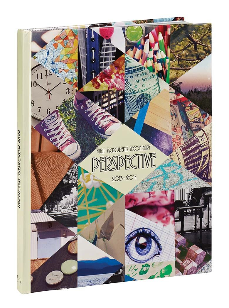 Yearbook Cover Photography : Perspective hugh mcroberts secondary school richmond