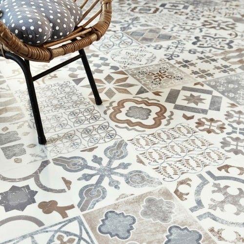 2019 Vinyl Flooring Trends: Antique Cushioned Vinyl Flooring- Gustavian 05