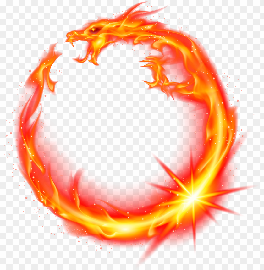 Flame Dragon Fire Red Fire Dragon Circle Png Image With Transparent Background Png Free Png Images Fire Dragon Red Fire Fire Icons
