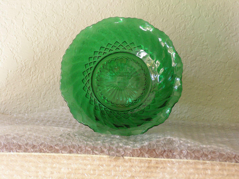 Vintage Depression Glass Bowl.