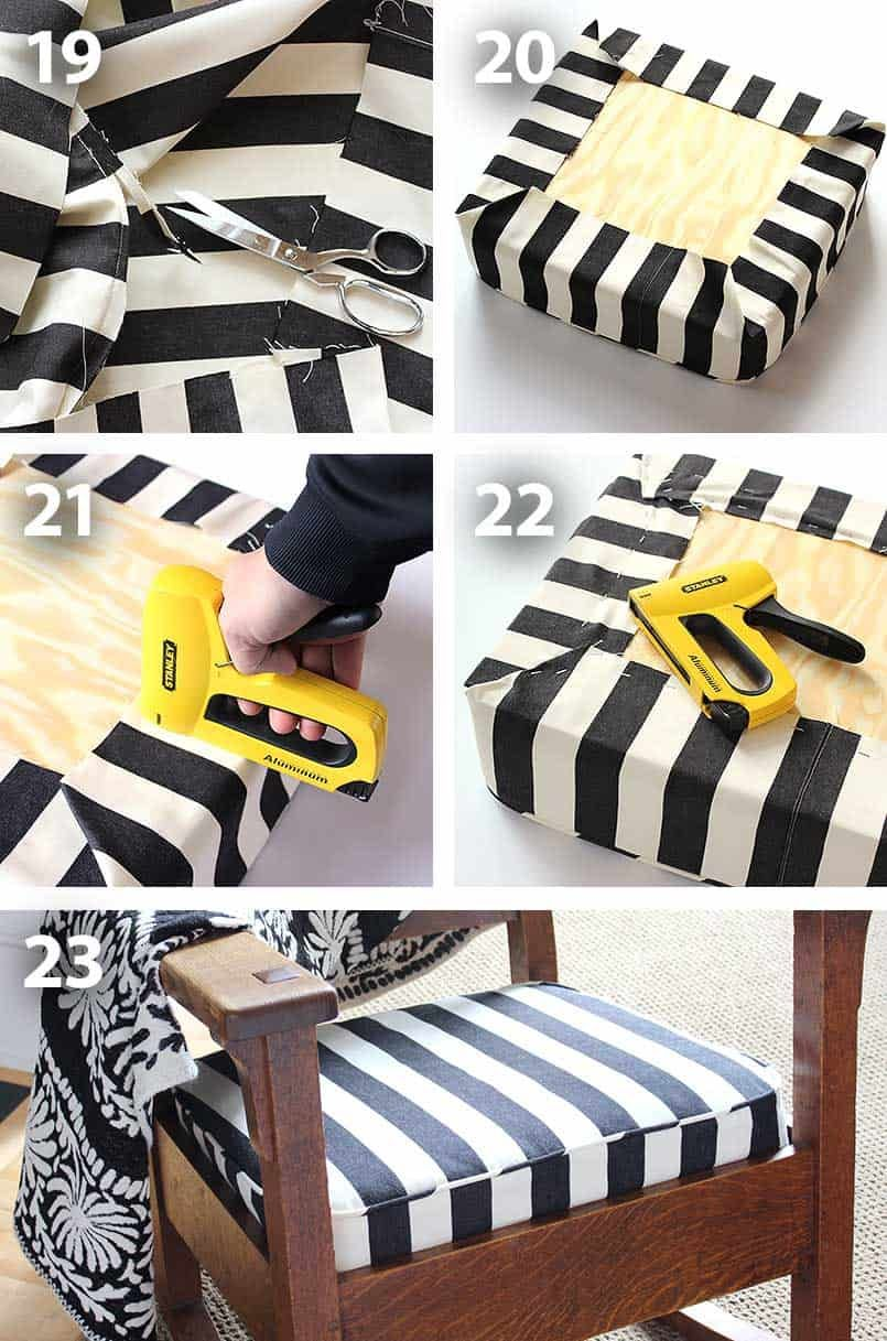 How to Make a Cushion Cover for a Chair