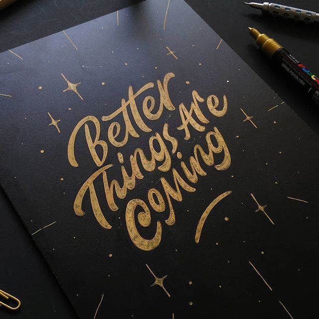 Better Things by @_rdwnsyh - typography & lettering design love ❤️ - typostrate - typostrate.com