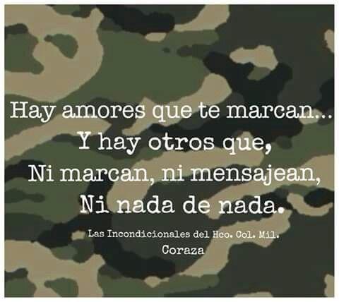 Amores Militares Amor Militar Frases Militares Y Soldados