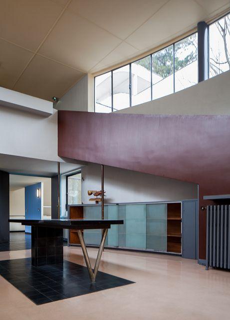 Maison la roche art deco bauhaus roaring twenties harlem renaissance de stijl - Bauhaus wandfarbe ...